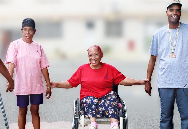 72 anos de Dedicação - Unidade de Longa Permanência da Instituição Casas André Luiz - ONG em Guarulhos Especializada no Atendimento a Deficientes Intelectuais