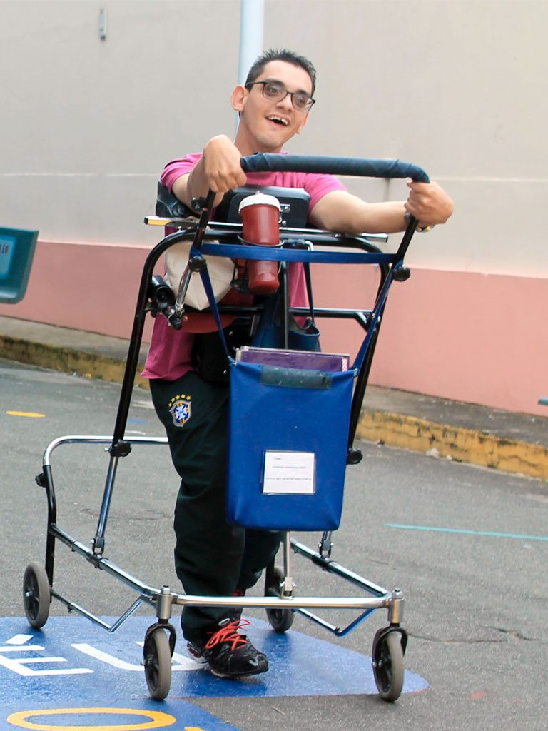 tipos de locomoção para pacientes com deficiências