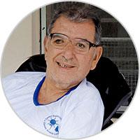Paciente com Deficiência Intelectual Leve das Casas André Luiz