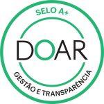 Selo Doar A+ de Gestão e Transparência - Casas André Luiz