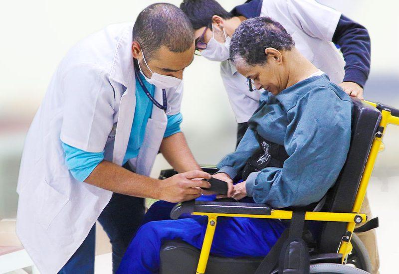 Cadeira de Rodas - Oficina da Instituição Casas André Luiz - ONG em Guarulhos Especializada em Deficientes Intelectuais