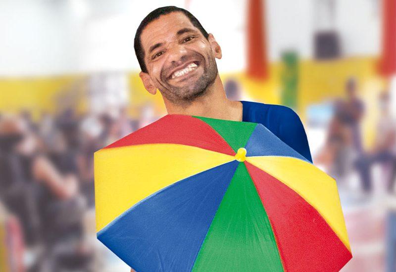 Atividade interdisciplinar na Unidade de Longa Permanência da Instituição Casas André Luiz - ONG em Guarulhos Especializada no Atendimento a Deficientes Intelectuais