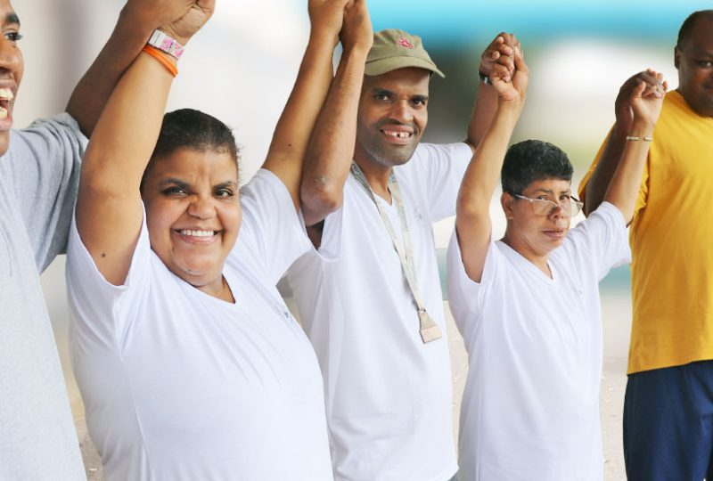 Inclusão Social - Unidade de Longa Permanência da Instituição Casas André Luiz - ONG em Guarulhos Especializada no Atendimento a Deficientes Intelectuais