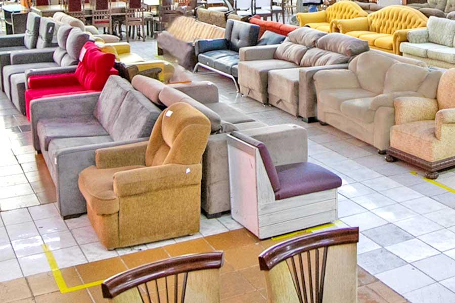 Bazar Beneficente Casas André Luiz Mercatudo Vl Galvão. Toda arrecadação em prol do atendimento especializado e gratuito das pessoas com deficiências.