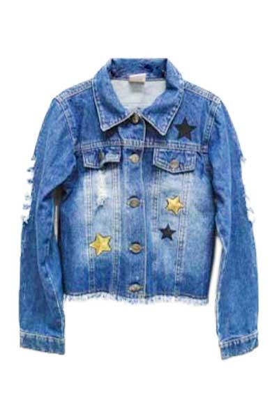 Promoção mês das crianças: Bazar Mercatudo. Jaqueta Jeans - PALOMINO FOR GIRLS