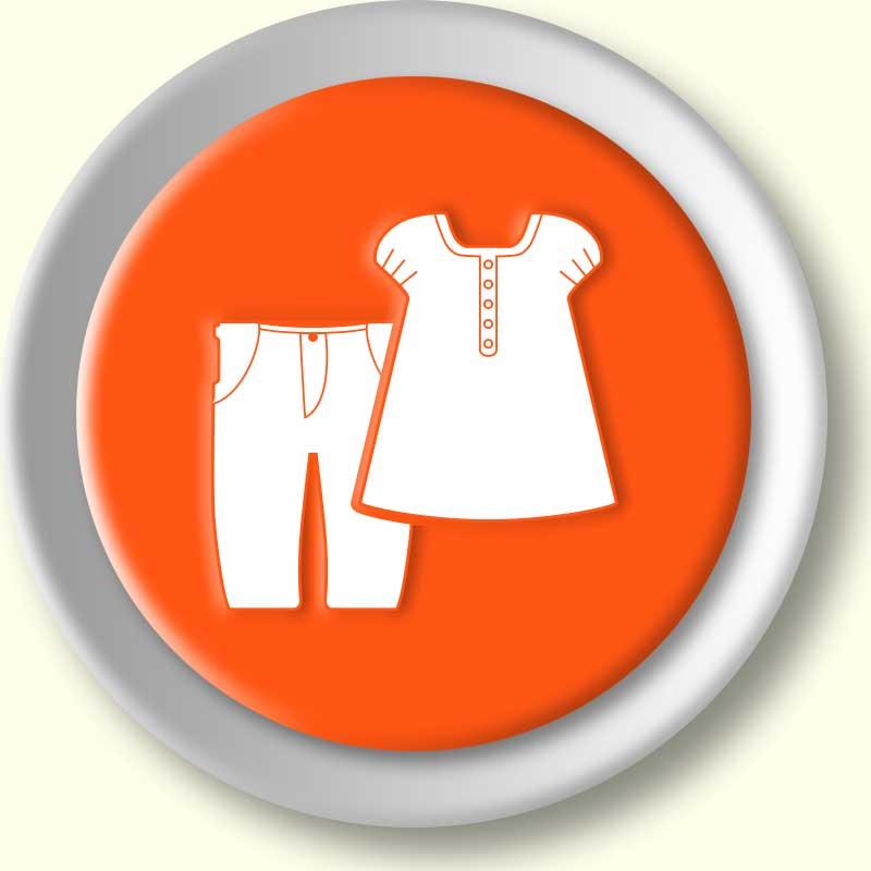 Doe roupas infantis